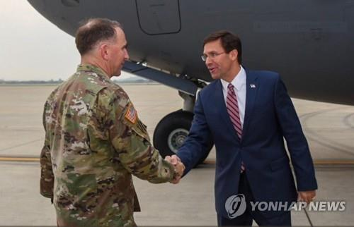 S. Korean, U.S. defense chiefs to hold talks over tough tasks