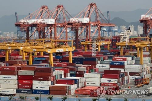 S. Korea's exports set to fall for 9th straight month in August