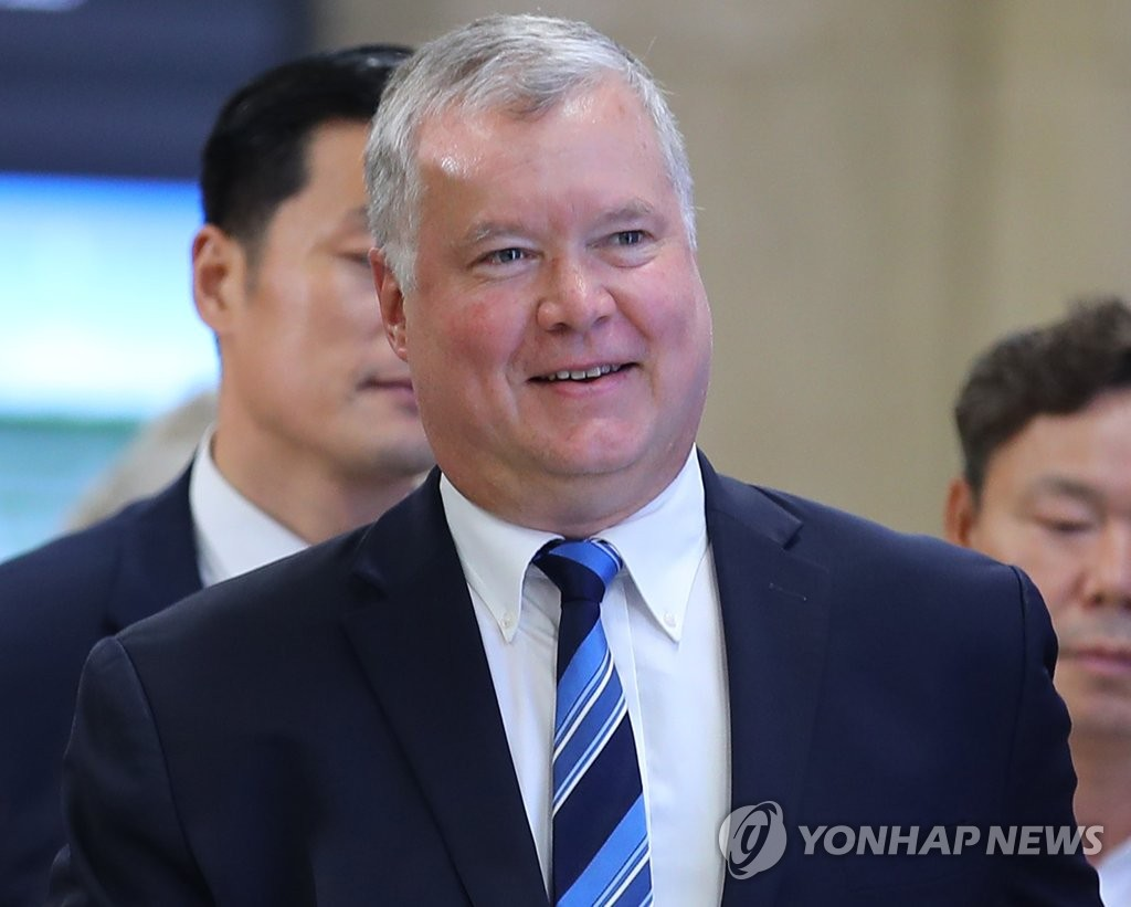 Biegun to hold talks with Seoul officials over resumption of nuke talks with N.K.