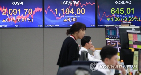 Seoul stocks advance for 12th day ahead of American-Sino trade talks