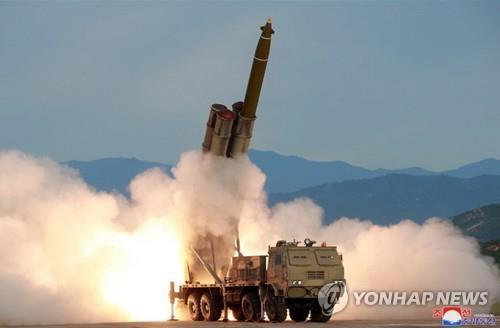 N. Korea fires unidentified projectiles toward East Sea: JCS