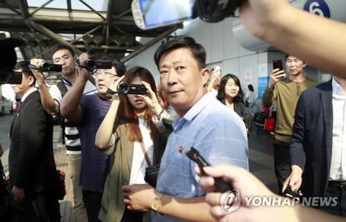 N.K. top nuke envoy arrives in Beijing possibly on way to talks with U.S.