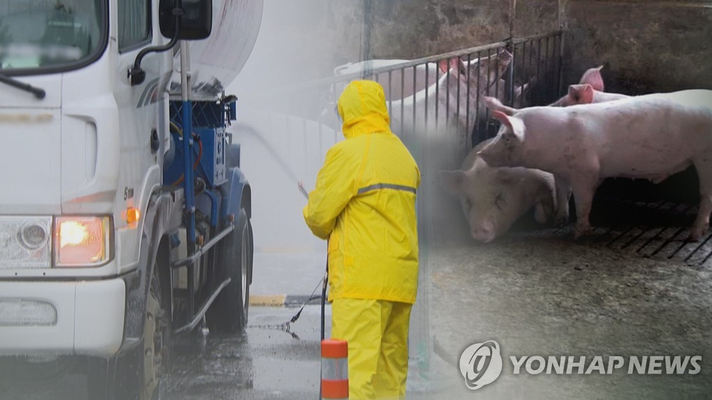 S. Korea announces 48-hour standstill amid 14th African swine fever case
