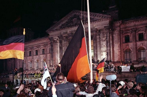 """German reunification brought divided people together, ushered in European integration"""