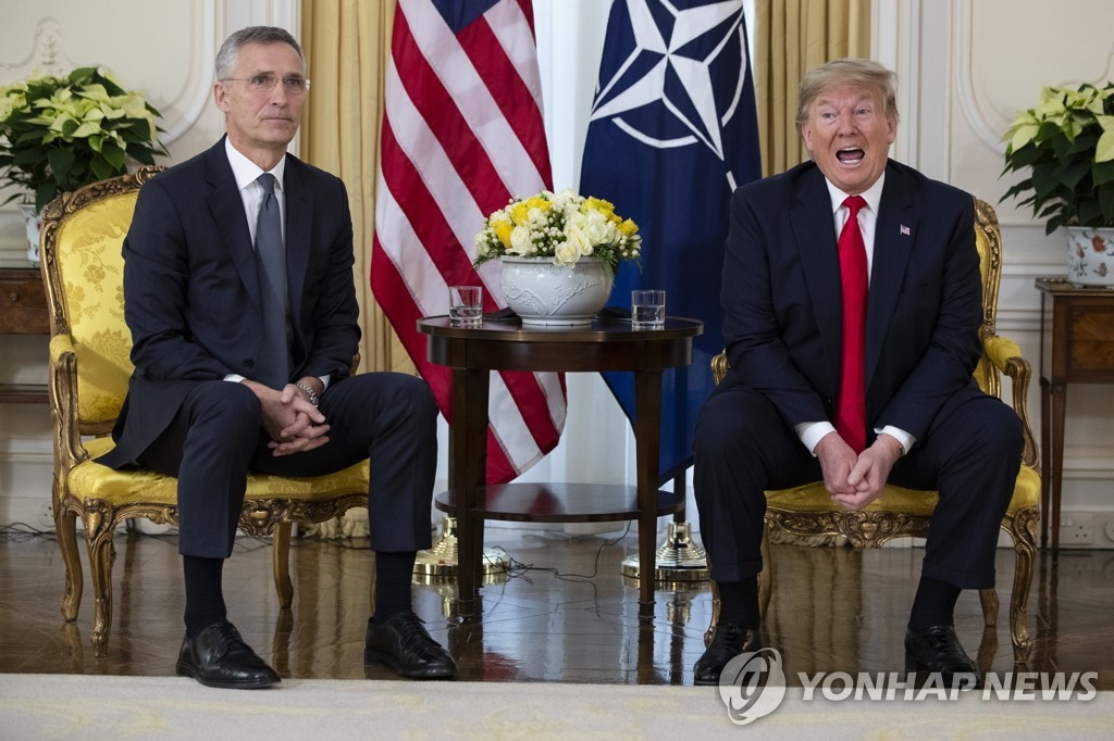 Trump hints U.S. may use military force against N.K. if necessary