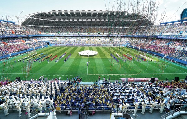 Peace Soccer Event at Daejeon World Cup Stadium
