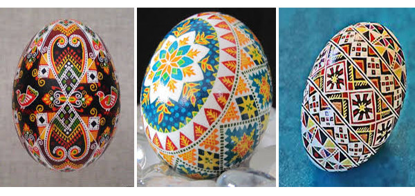 Pysanka is a Ukrainian Easter eggs of different styles and coloring.