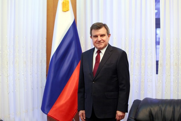 Discloses Ambassador Kulik of Russia in Seoul