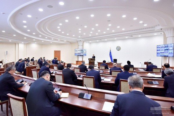 On April 22, a video conference took place under the chairmanship of President Shavkat Mirziyoyev of the Republic of Uzbekistan.