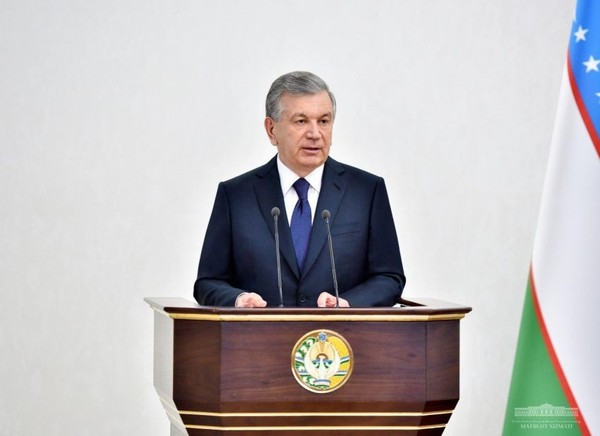 Shavkat Mirziyoyev, President of the Republic of Uzbekistan, held a video conference on May 5,2020.