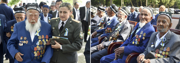 Over 3 thousands veterans of the war and 70 thousands front workers live in Uzbekistan