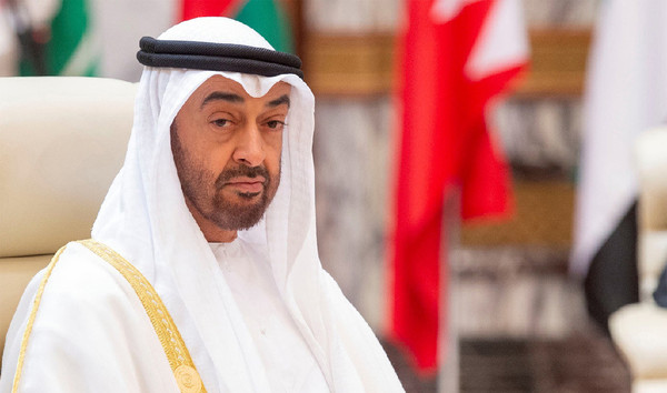 Sheikh Mohammed bin Zayed Al Nahyan, Crown Prince of the Emirate of Abu Dhabi and Deputy Supreme Commander of the United Arab Emirates Armed Forces.