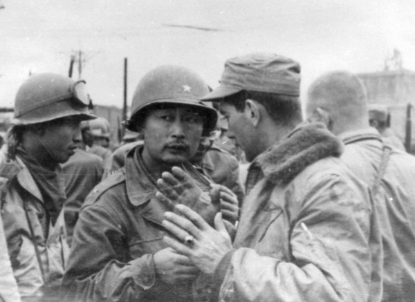 Then Brigadier General Paik, who commanded operations in East Pyongyang (North Korean capital) in October 1950 during the Korean War.