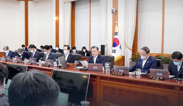 Opening Remarks by President Moon Jae-in at 37th Cabinet Meeting