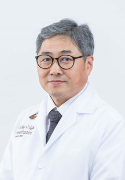 Dr. Chanshik Shim, the current head of the hospital at the Dubai & Abu Dhabi Wooridul Spine Centre