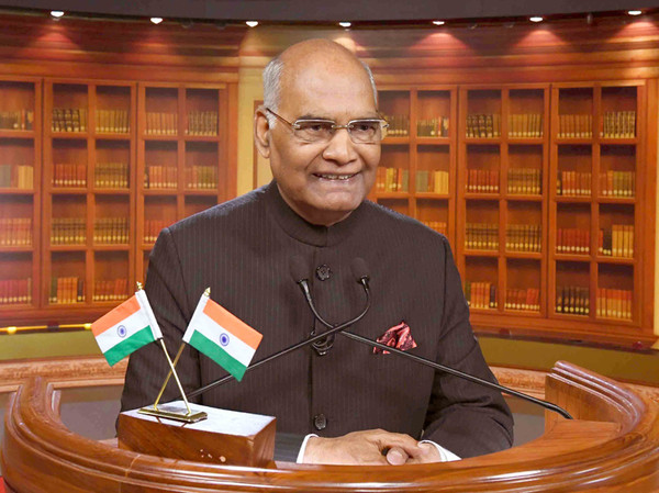 "President Ram Nath Kovind of India: ""It has been the tradition of India that we work for the well-being of the entire world. India's self-reliance means being self-sufficient without alienating or creating distance from the world."""