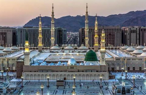 The Prophet's Mosque in Madinah