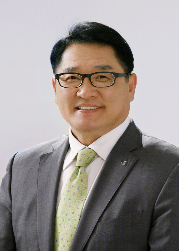 Koo Ja-kyun, chairman of LS Electric