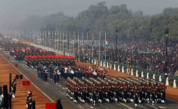 Another military parade in India to mark the 2021 Republic Day of India.