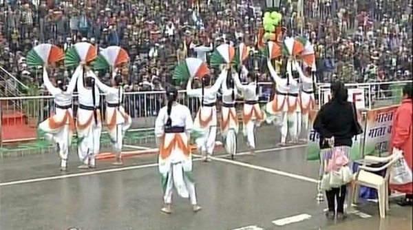 Cultural programs organised at Wagah Border to mark the occasion of Republic Day