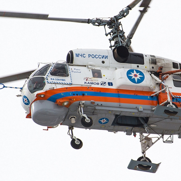 Ka-32 helicopters used by rescue and firefighting services of Korea (photo source: Russian Helicopters Company);
