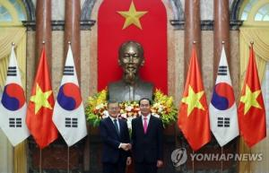 Leaders of S. Korea, Vietnam agree to boost trade, bilateral cooperation