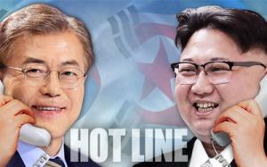 South, North Korea set up direct hotline between leaders