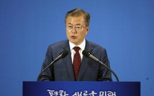 N. Korea ready to denuclearize, hopes for 2nd summit with U.S.: Moon