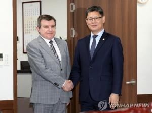 Unification minister meets Russian ambassador ahead of Kim-Putin summit