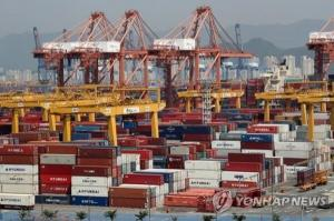 8th straight months decline of Korea's exports