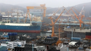 S. Korea recaptures No. 1 spot in shipbuilding orders in Oct.