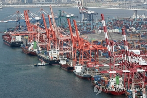 S. Korea's export prices continue to drop in Oct.