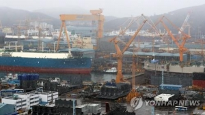 Daewoo Shipbuilding suffers 296 bln-won net loss in Q3 on one-off costs