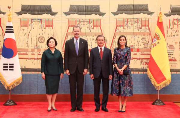 King Felipe and Queen Letizia visited South Korea last Octber to strengthen the bilateral relationships between both countries.