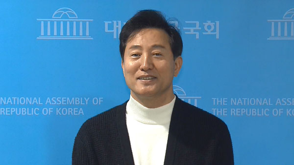 Ex-Seoul Mayor Oh Se-hoon of the main opposition People Power Party (PPP)