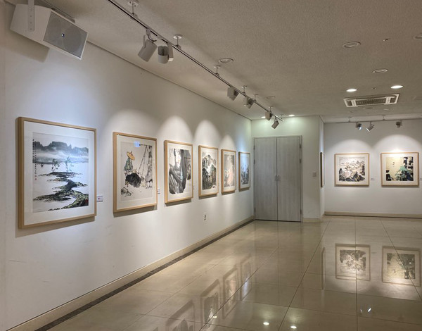 The interior of the Korean Artist Center